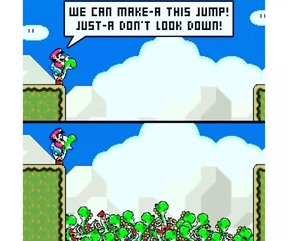 The real cost of Mario's adventures