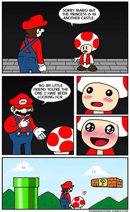 Toad gets a happy ending