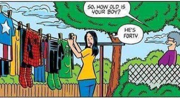 I'm actually 50!!