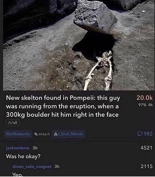 Was he ok?