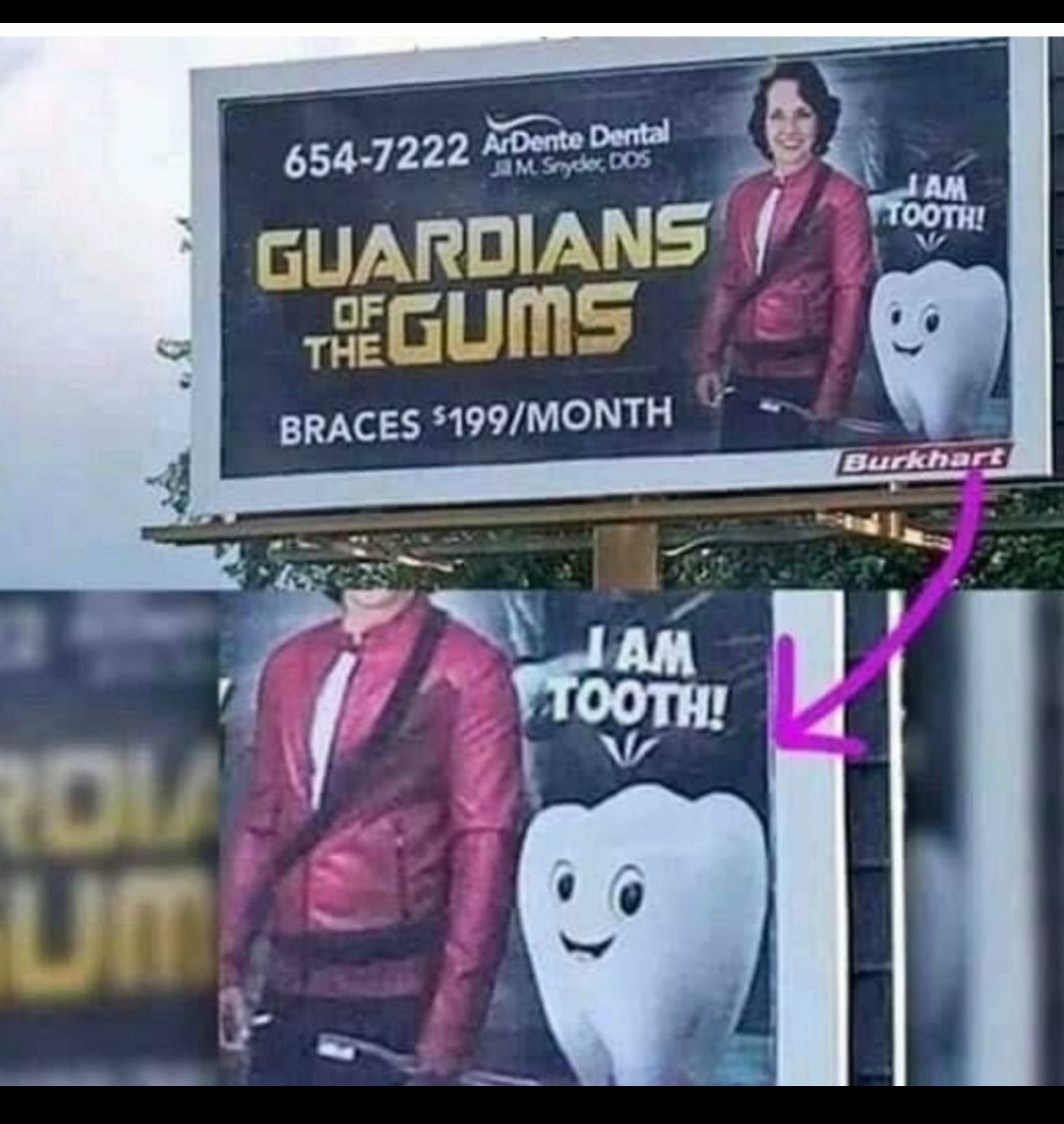 I am tooth!!!!