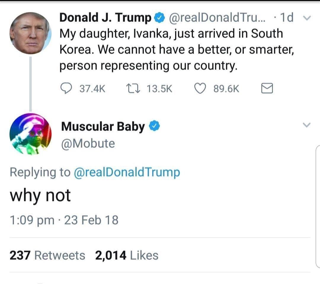 I wonder why