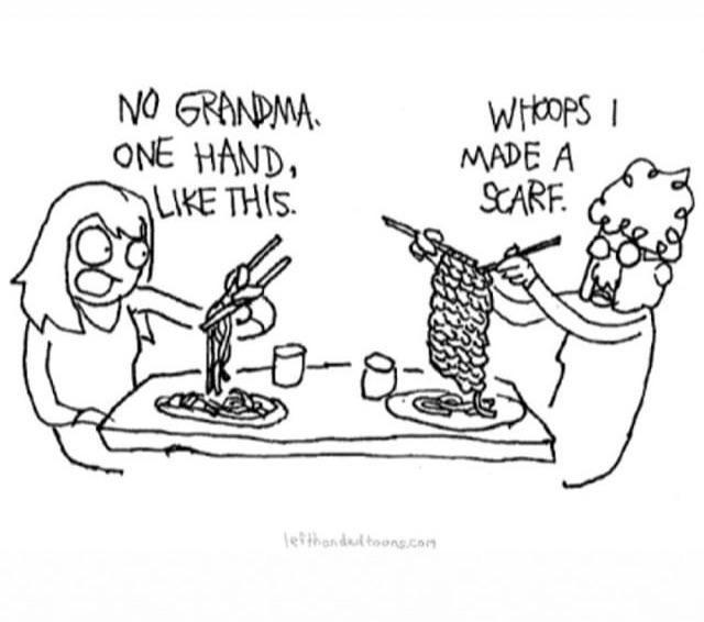 Wth grandma