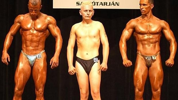 My new favorite thing is average guys entering bodybuilding contests.
