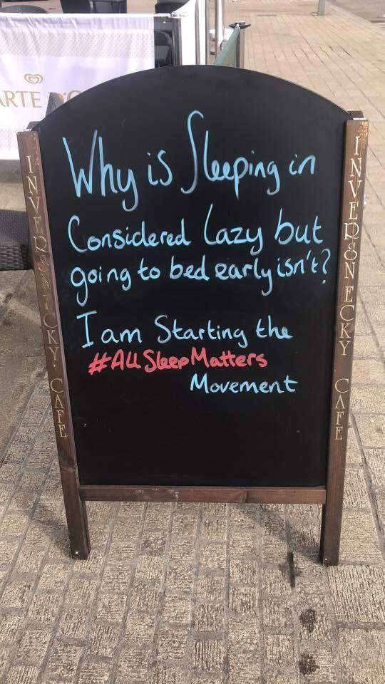#ALLSleepMatters
