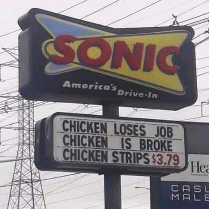 A chickens gotta do what a chickens gotta do