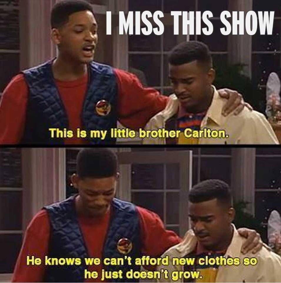 The Fresh Prince's finest line..