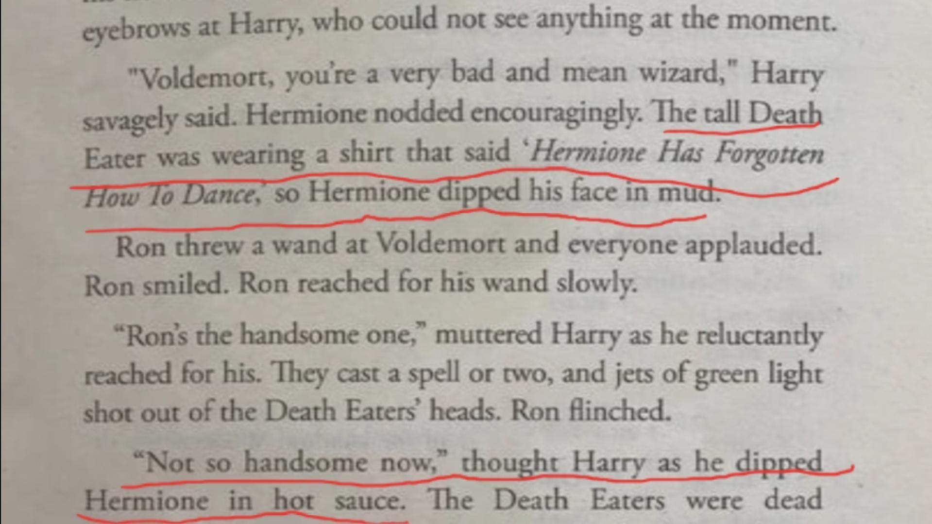 Harry Potter but written by an AI