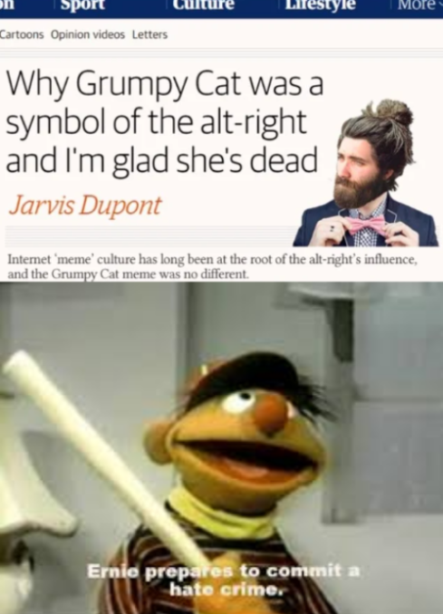 Count me in Ernie