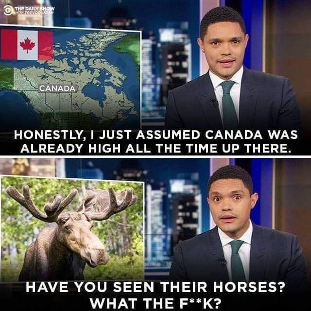Oh, Canada eh!