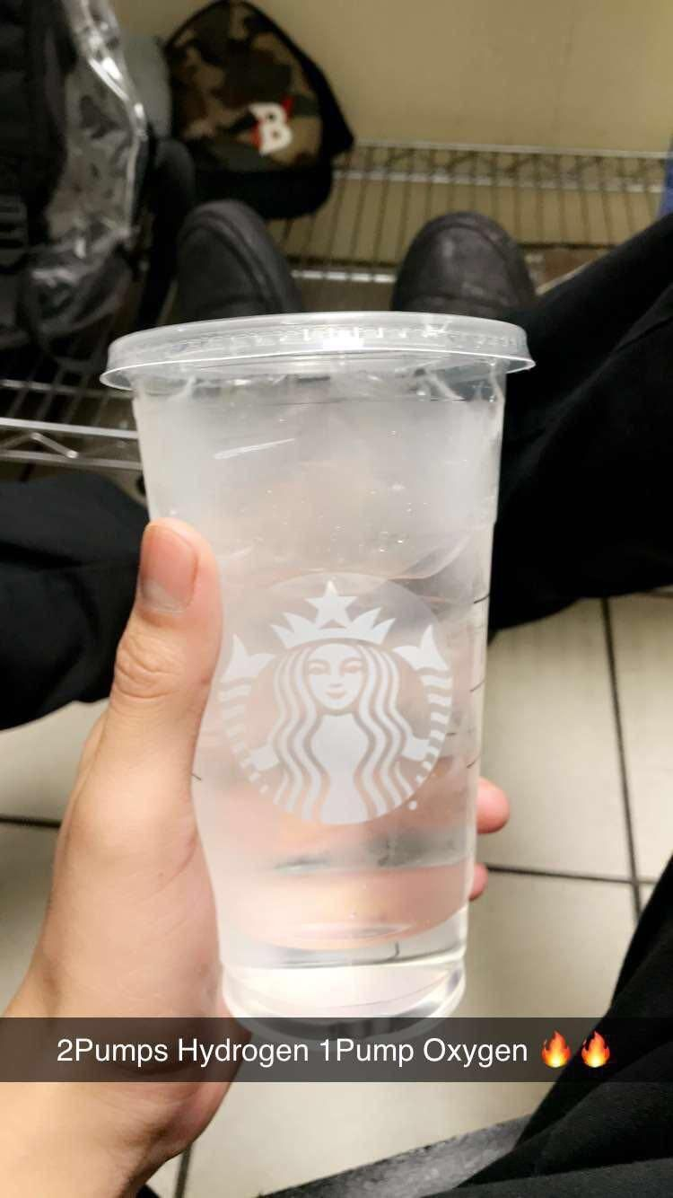 The only drink worth getting at Starbucks :
