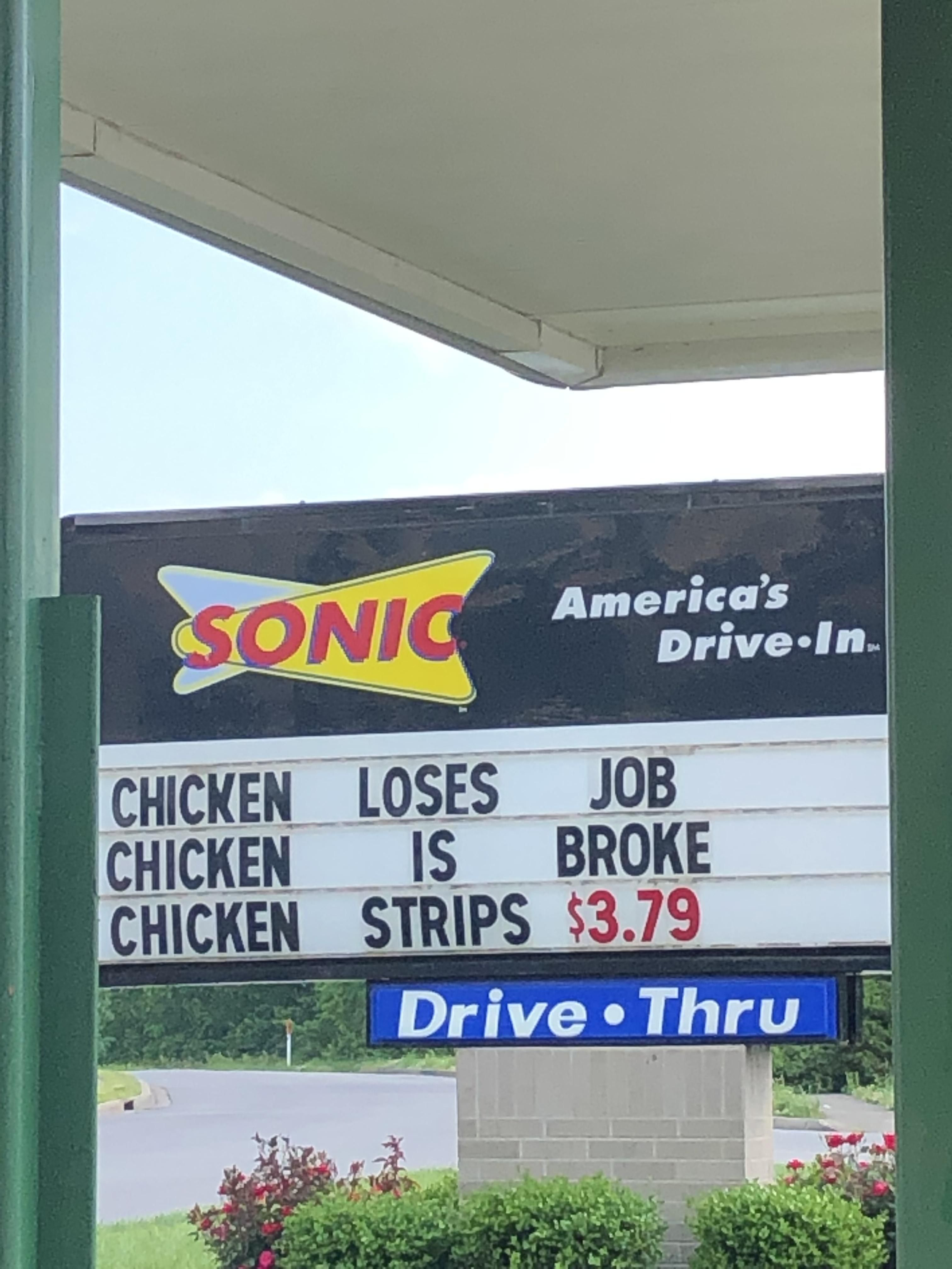Now that's some clever advertising