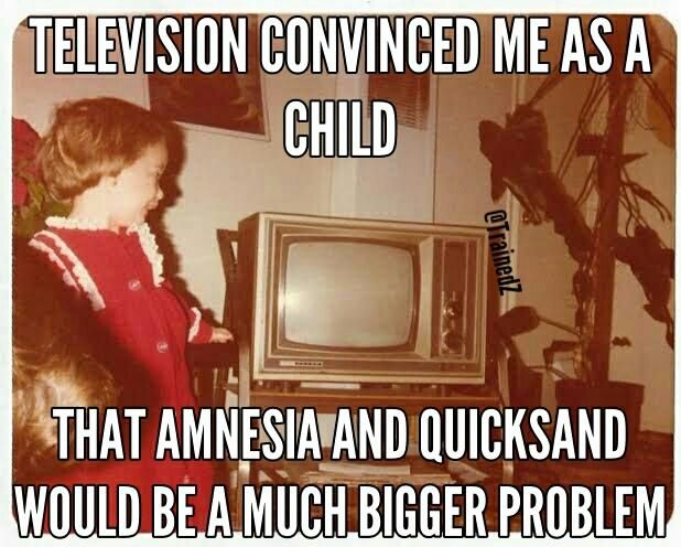I was a disillusioned 70s child.