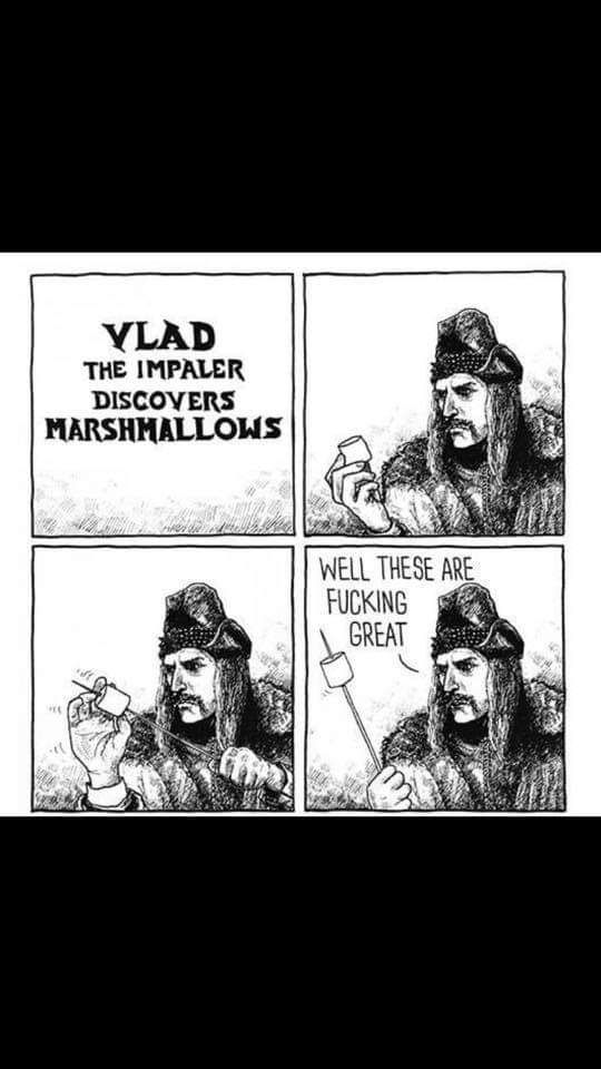Vlad Discovers Marshmallows...