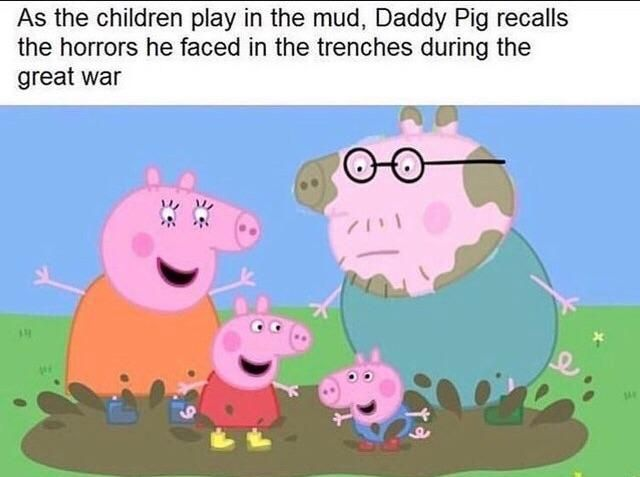 Peppa Pig was dark af