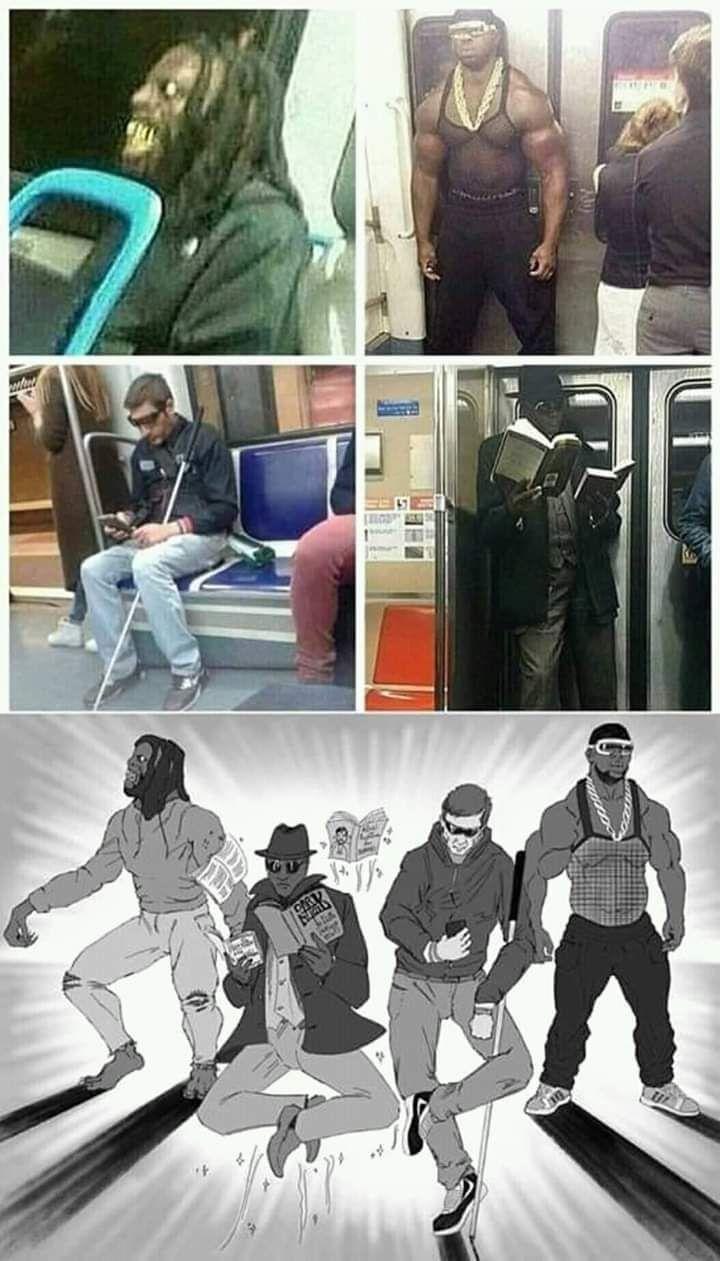 Subway superheros