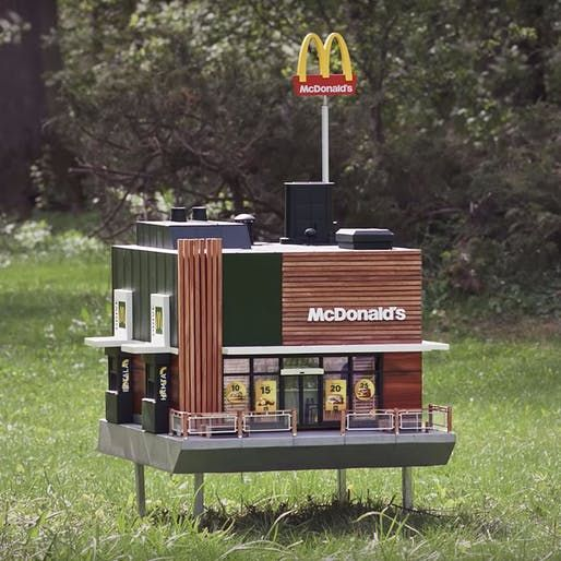 First fast food restaurant for bees !