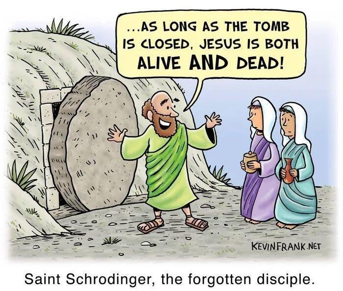 Saint schrodinger