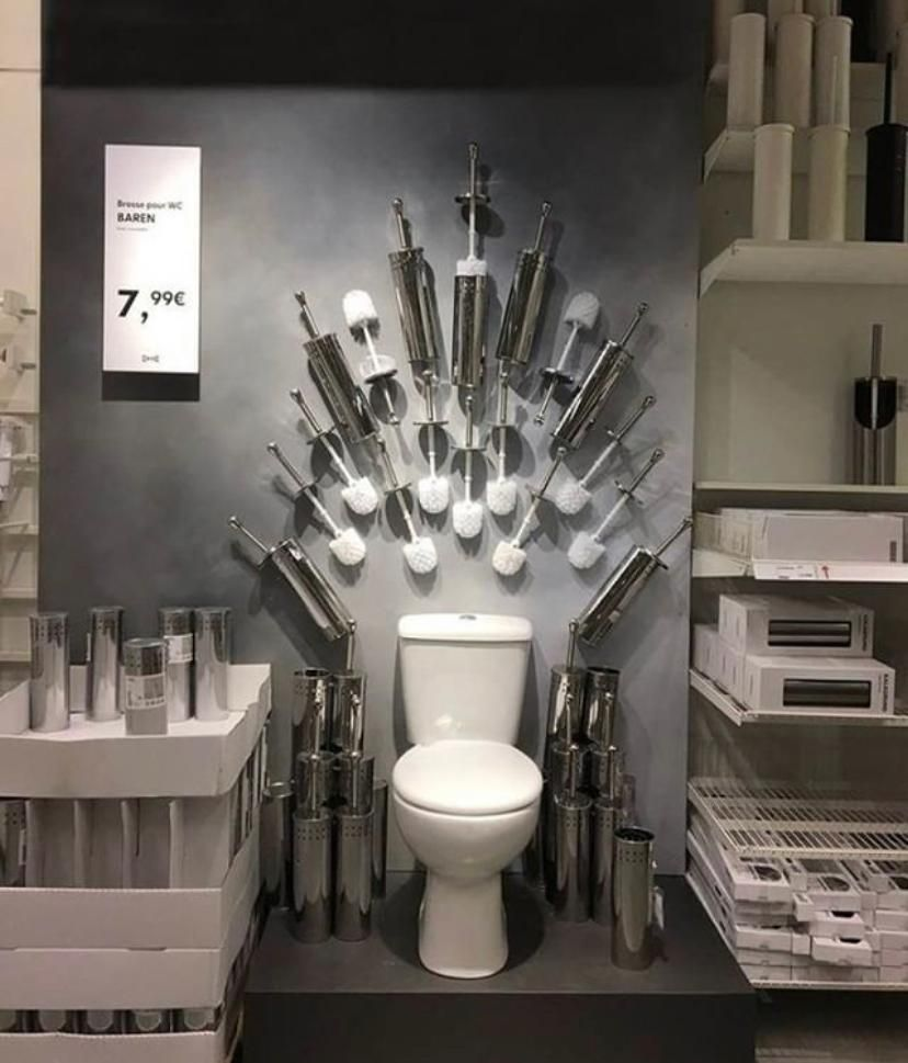 Someone got creative at Ikea