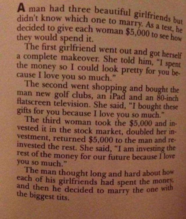 Good read..