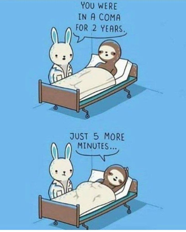 5 more minutes please!
