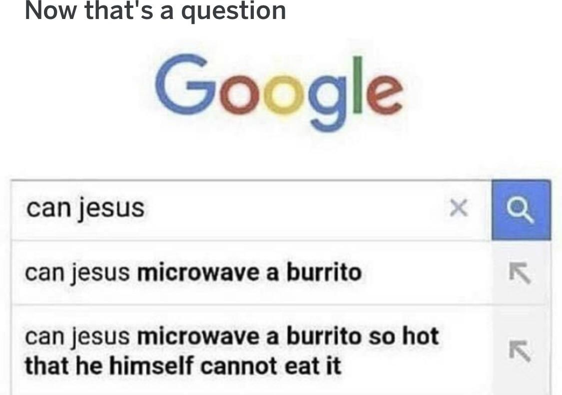 I mean it is a pretty good question