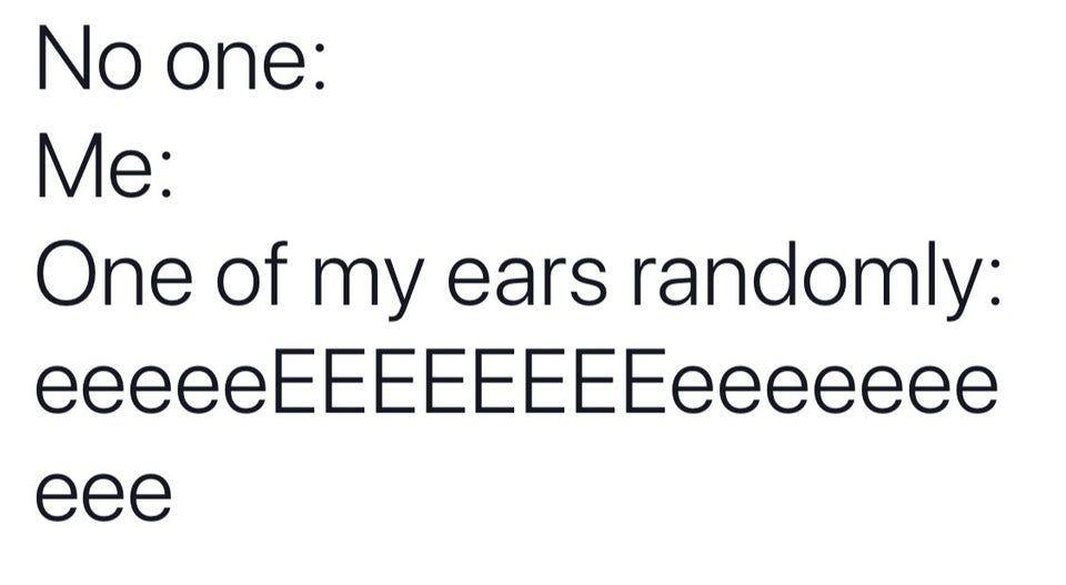 guess i'll be deaf