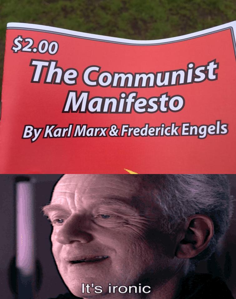 It's ironic