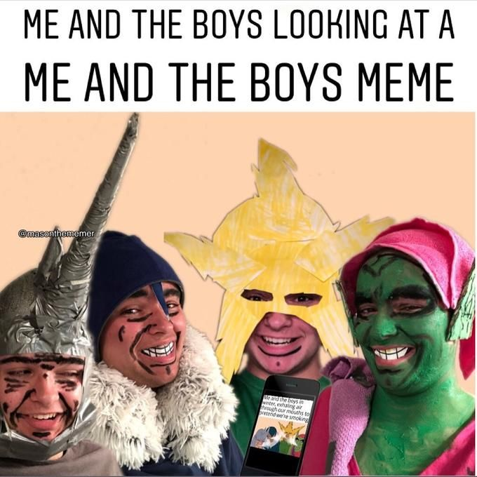 The boys and I