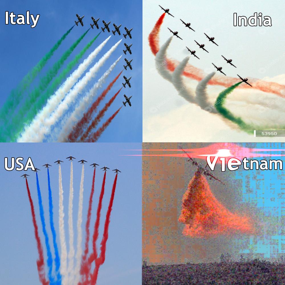 Air shows around the world