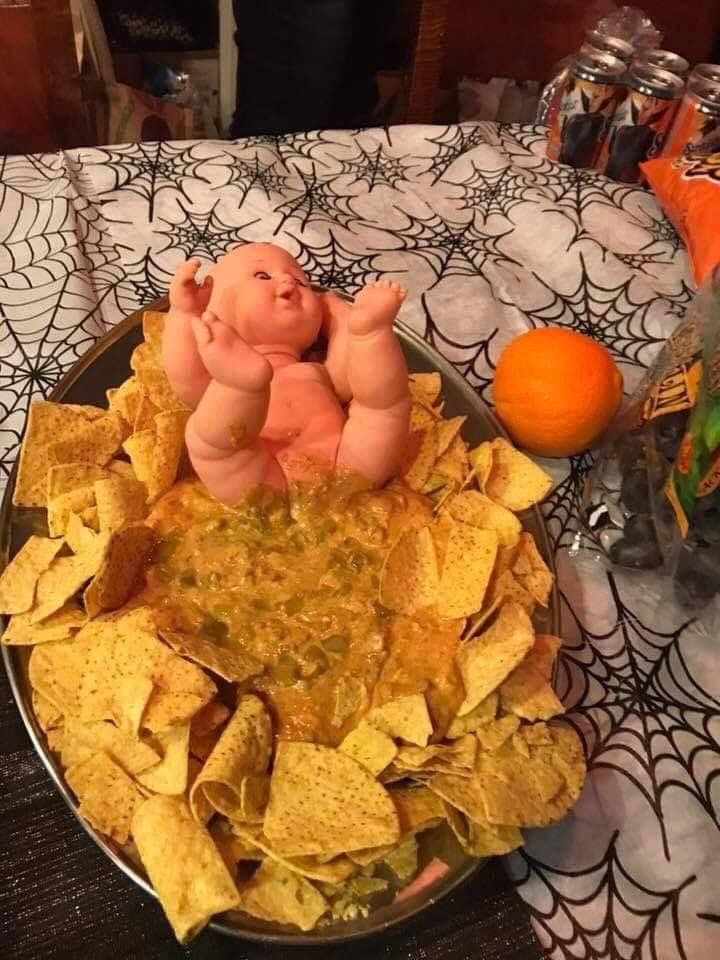 And that was the last time I was asked to help at a baby shower