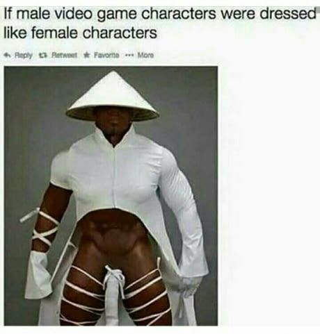Glad we finally have equal representation in games nowadays