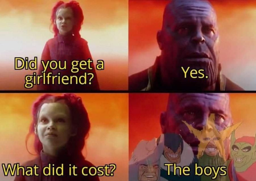 A huge price...