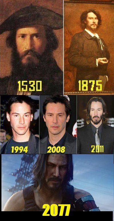 Immortal Keanu Reeves