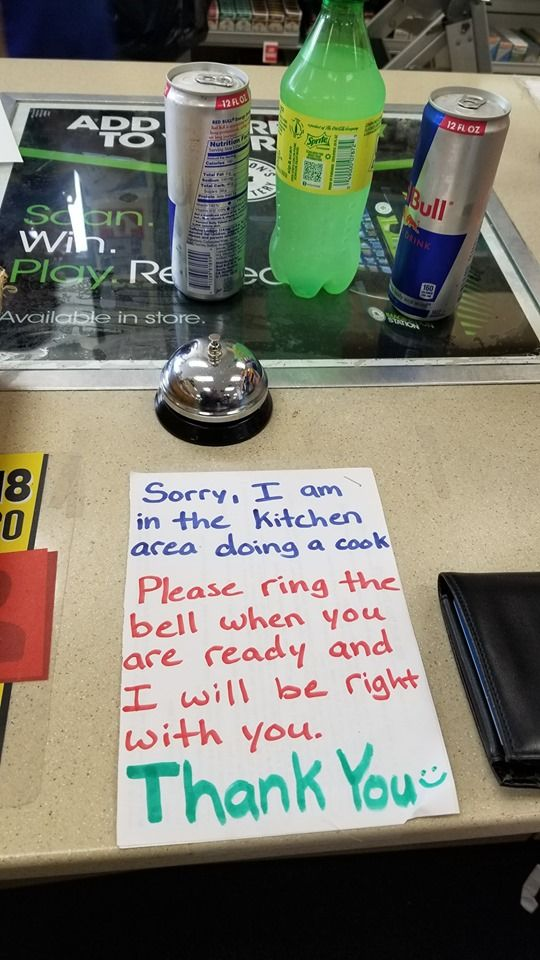 TMI from my local gas station
