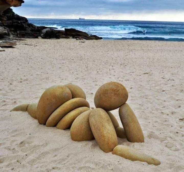 Rocking this beach body