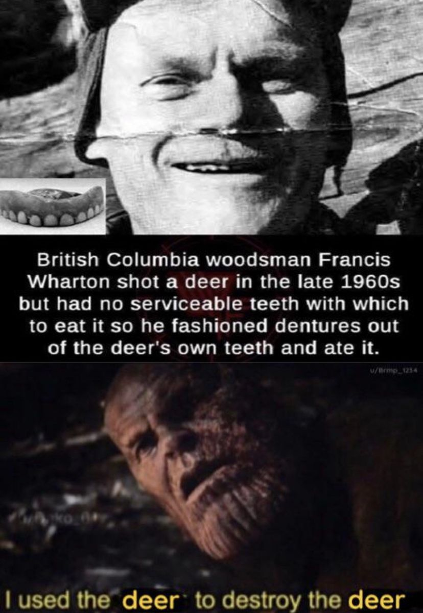 Woodsmen are hardcore