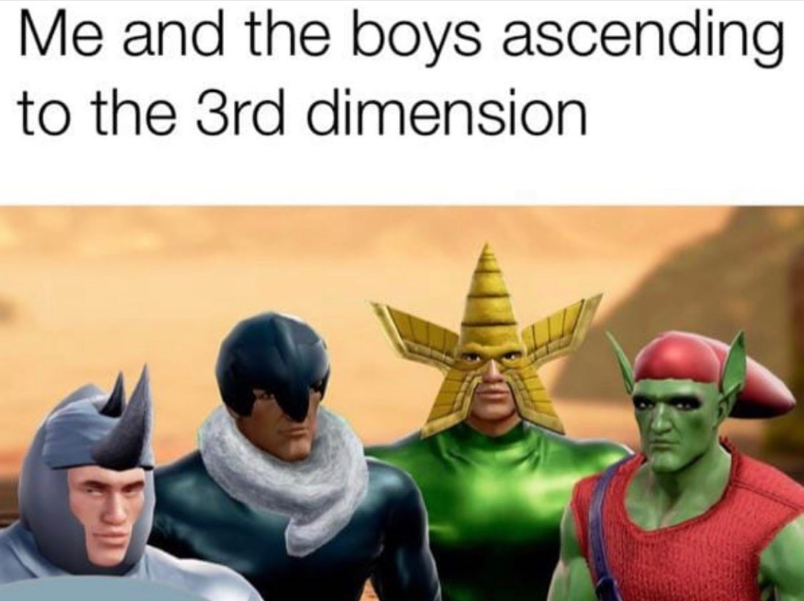 Ascending with the boys