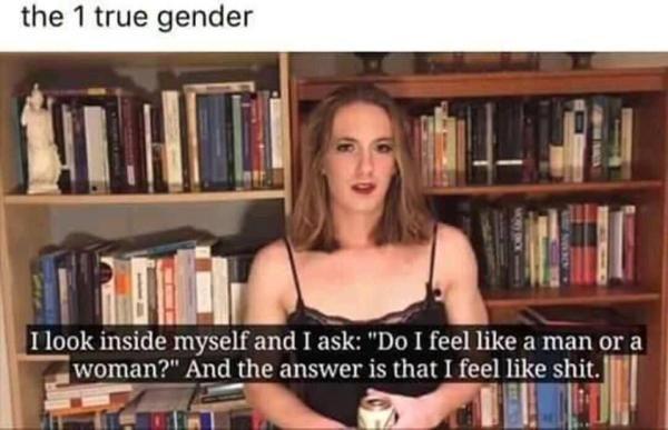 The one true gender