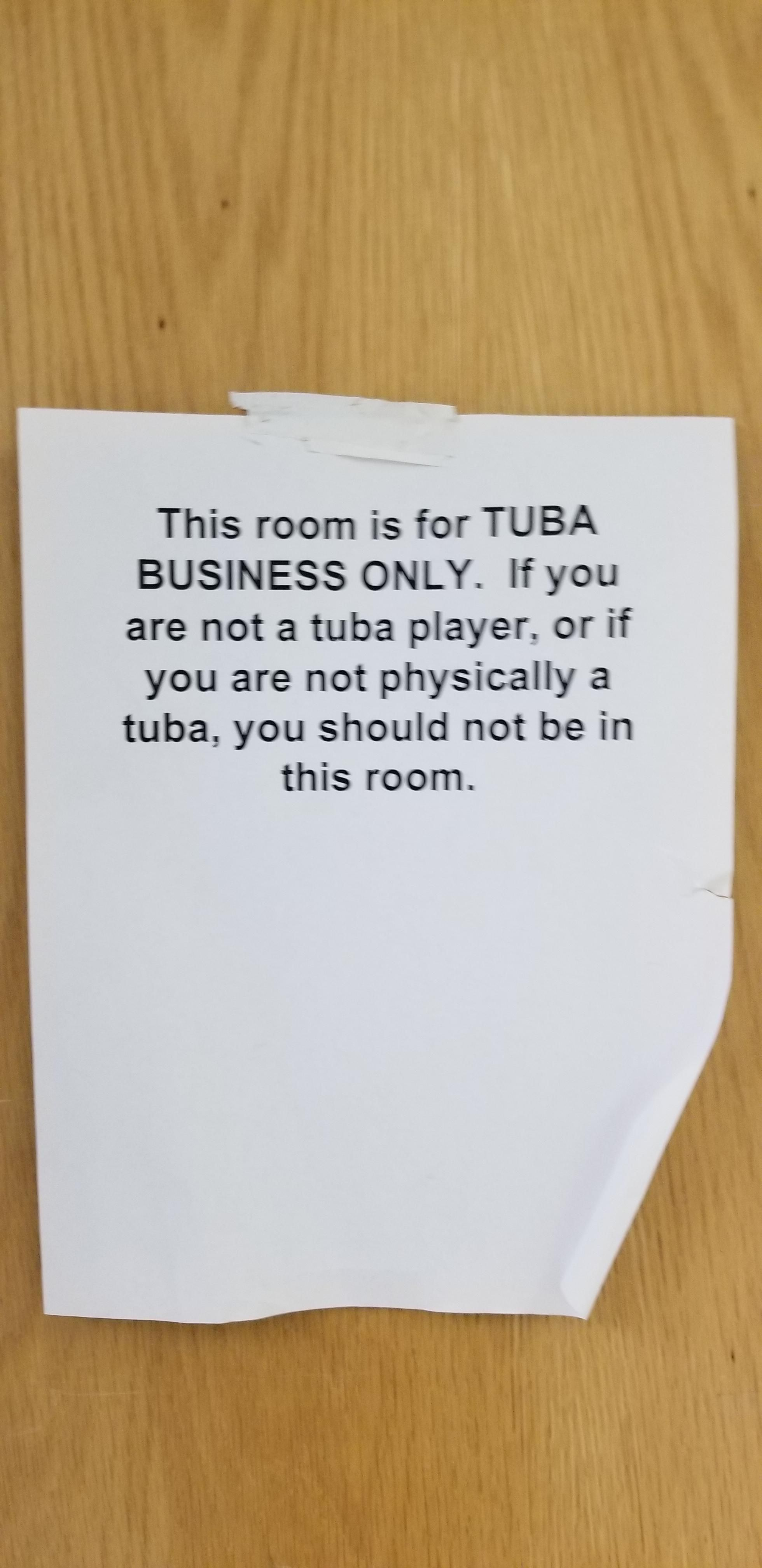 Found this on a high school classroom door
