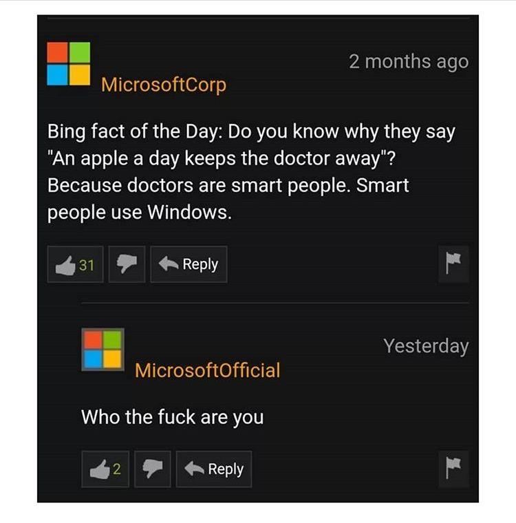 Microsoft? No! Microhard.