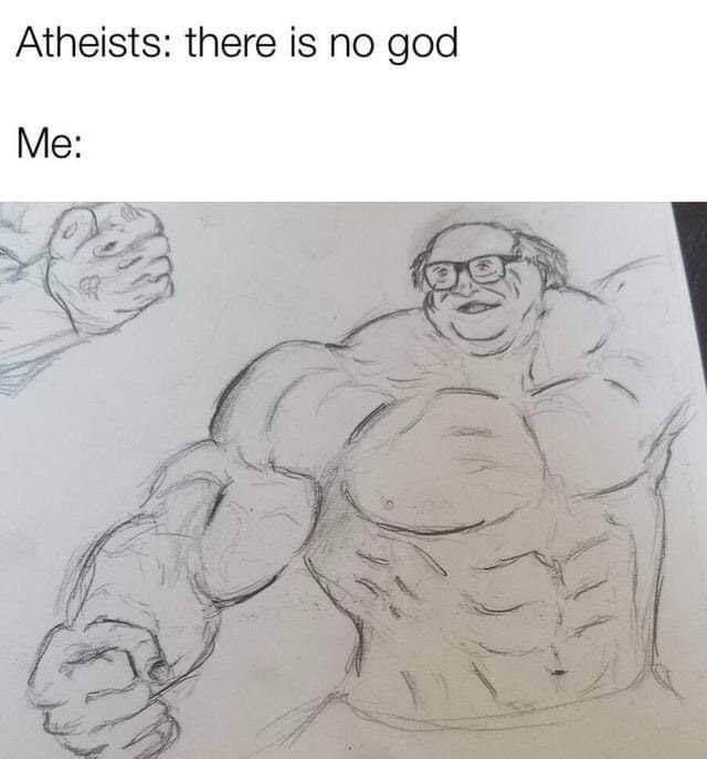 The face of God himself