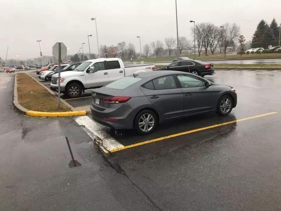 The winner of bad parking of 2019