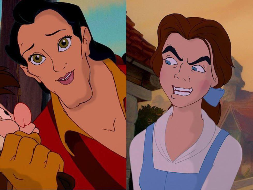 No one face swaps like Gaston