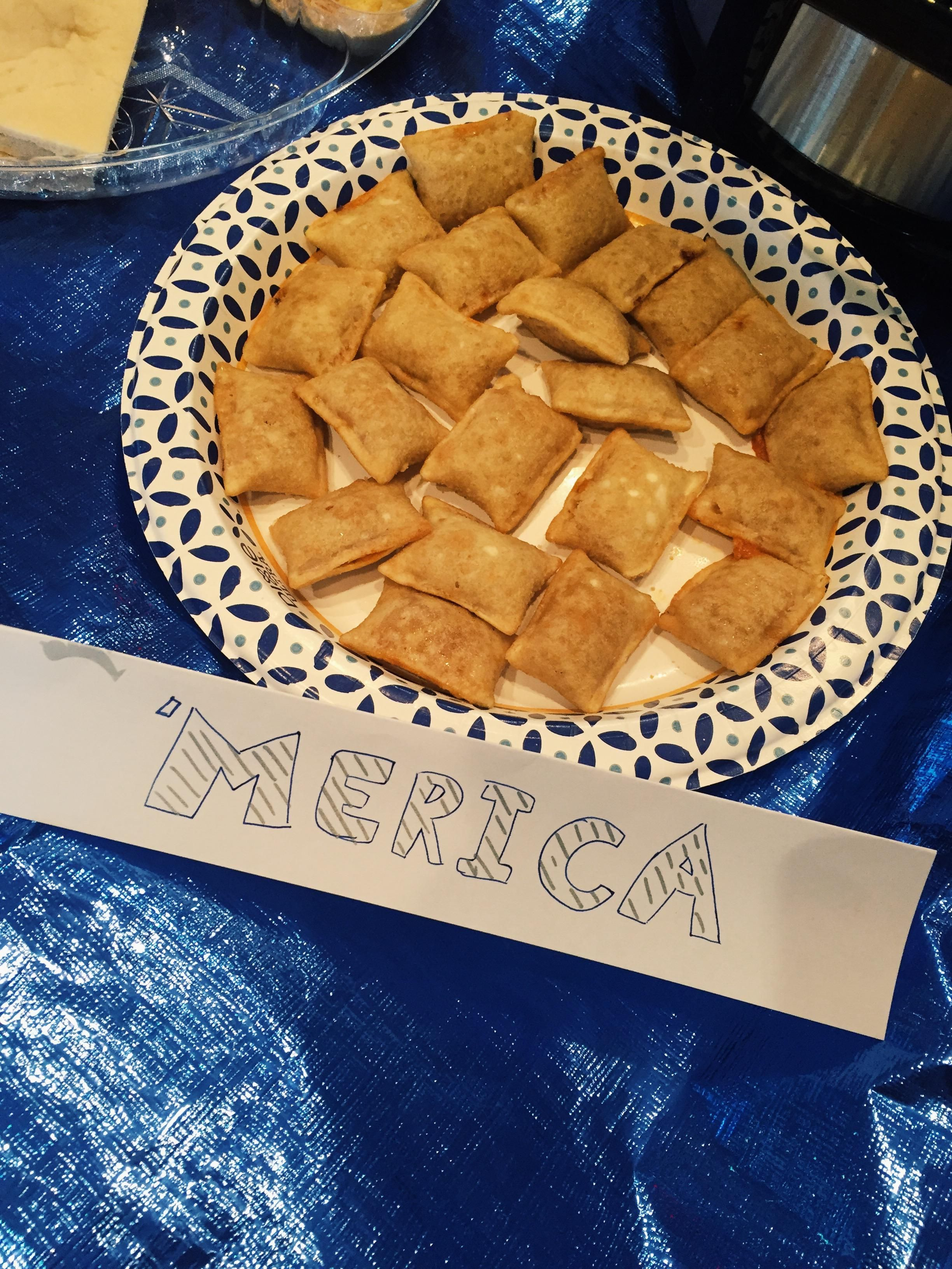 """For Flag Day, my work hosted a """"Bring food from your culture"""" potluck. This was my contribution..."""