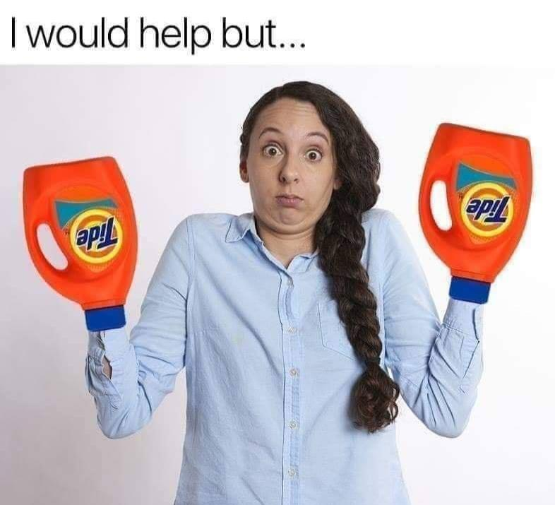 I would help but ...