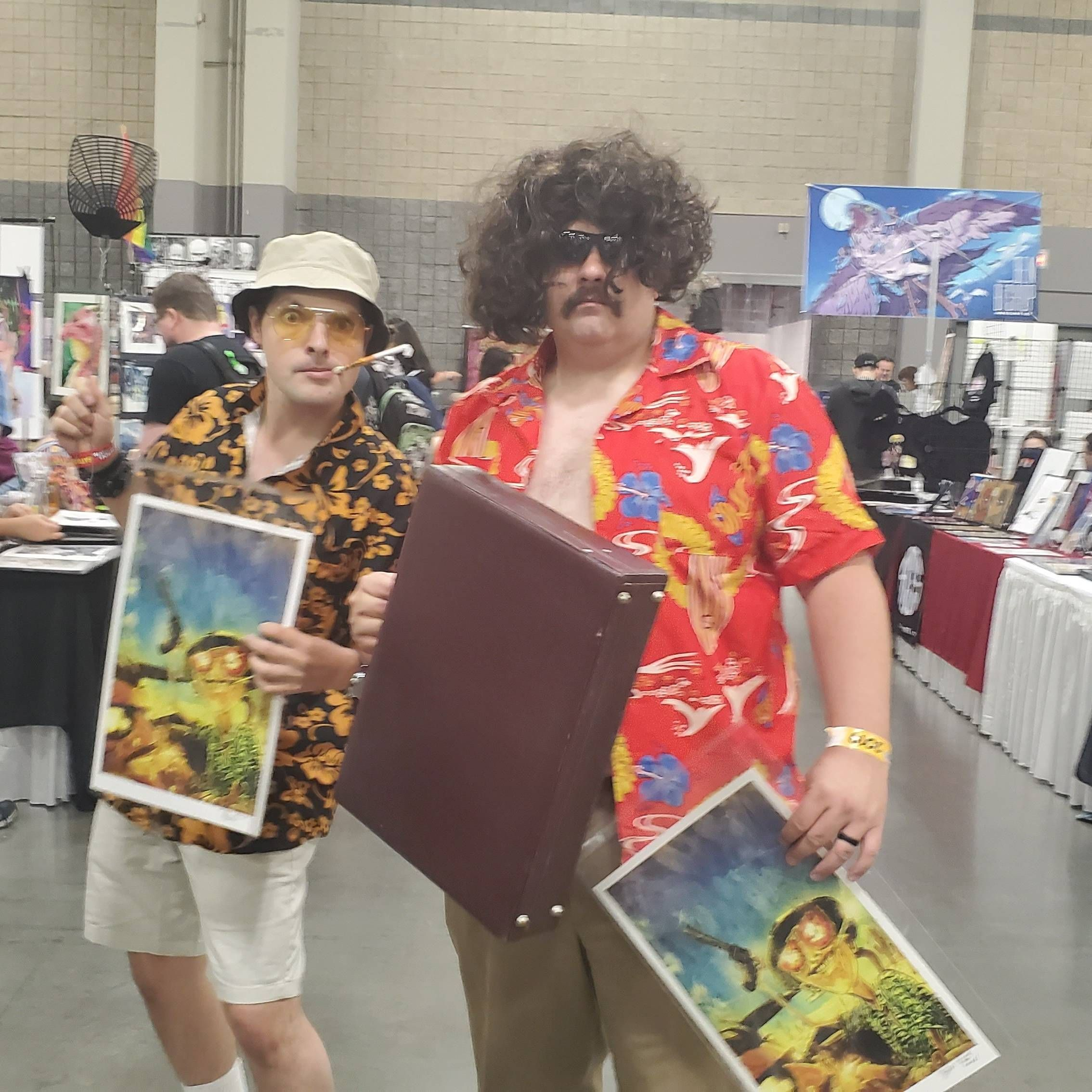 I found the greatest cosplay ever at Heroes Con