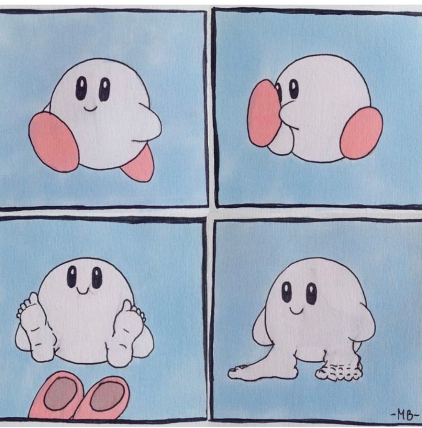 Kirby at home