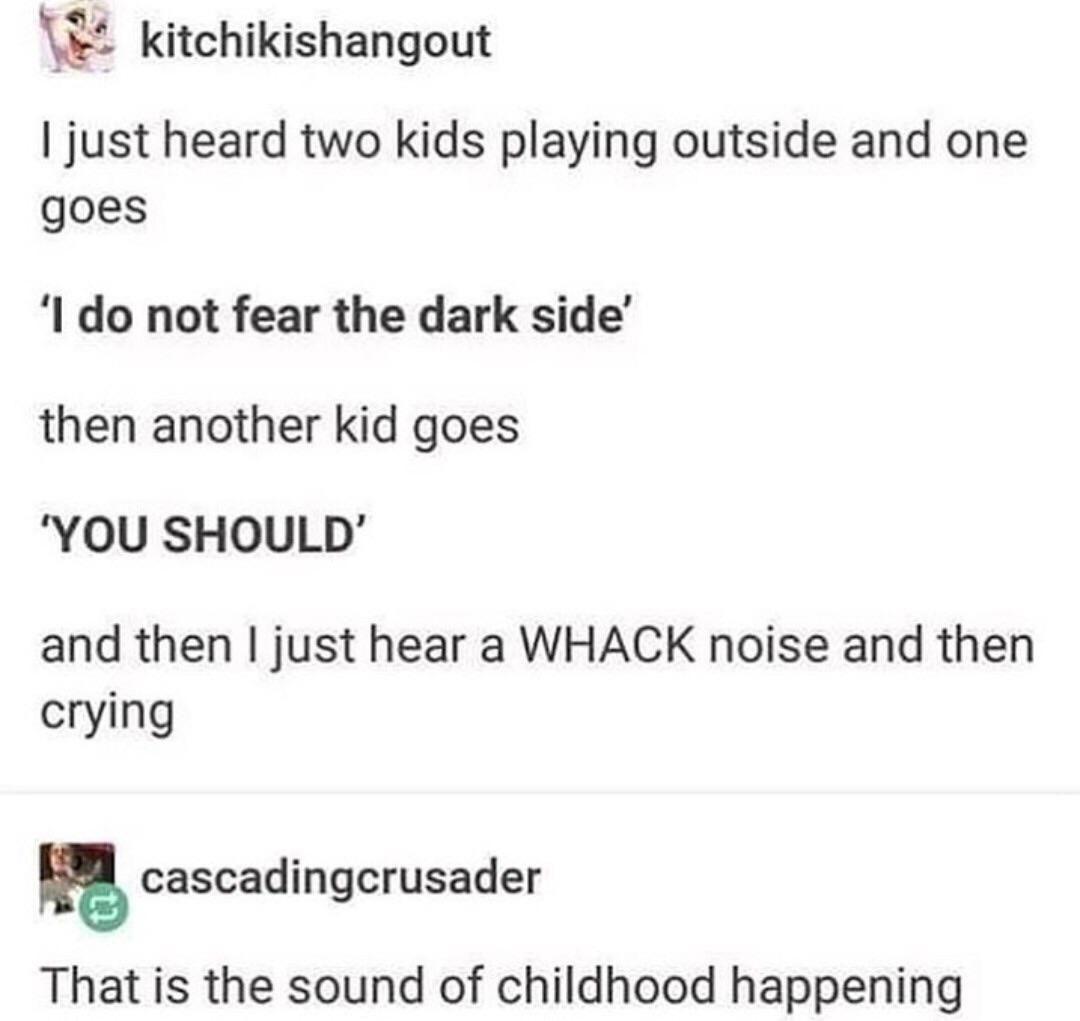 Real time childhood