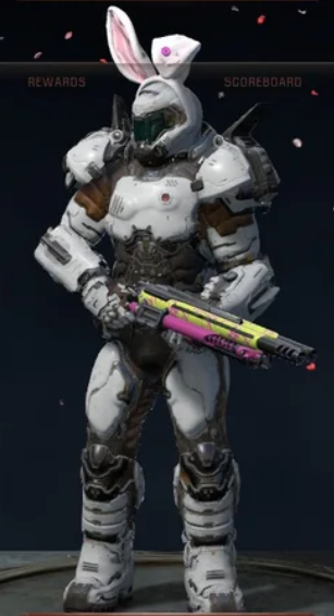 Doom Slayer's Fearsuit (obviously not a fursuit)